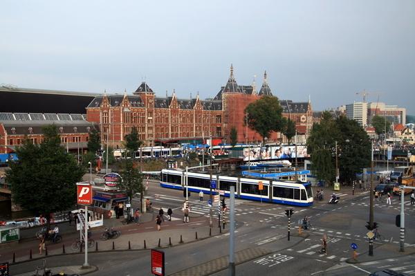 荷蘭-阿姆斯特丹-地上電車