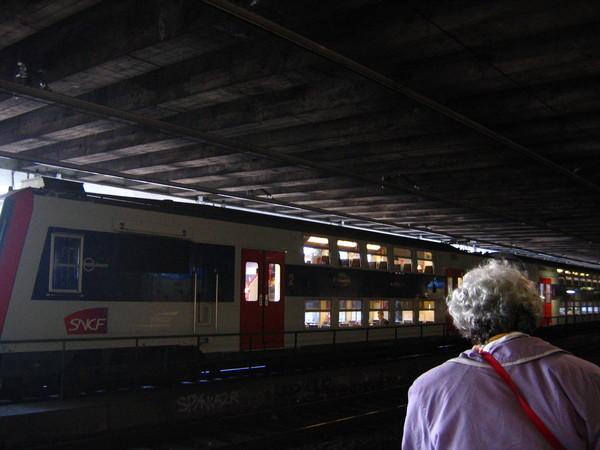 法國國鐵-攝於巴黎
