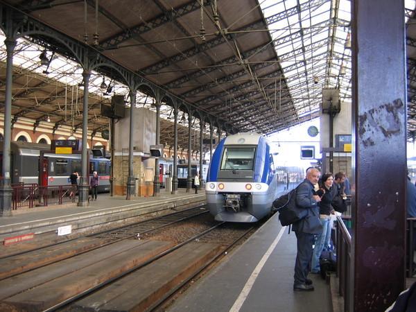 法國火車-攝於圖魯斯火車站