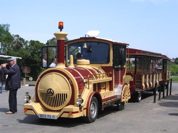 法國-卡卡松尼-遊城火車