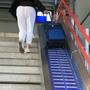阿培爾頓車站的自動輸送帶