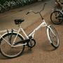 白色腳踏車