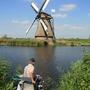 風車與釣魚老人