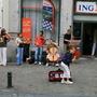 布魯塞爾街頭音樂家