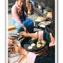 普米族人烤米製食品