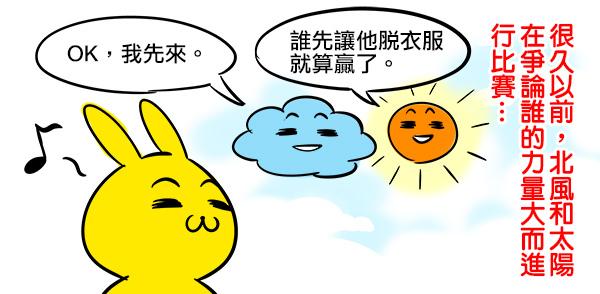 北風和太陽1