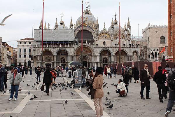17威尼斯的聖馬可廣場.JPG