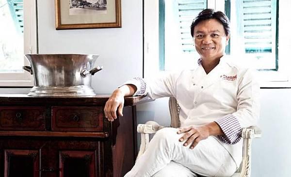 Issaya chef Ian