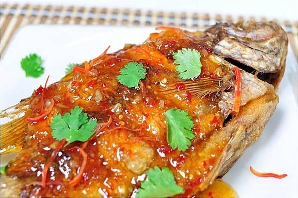 三味魚與雞醬