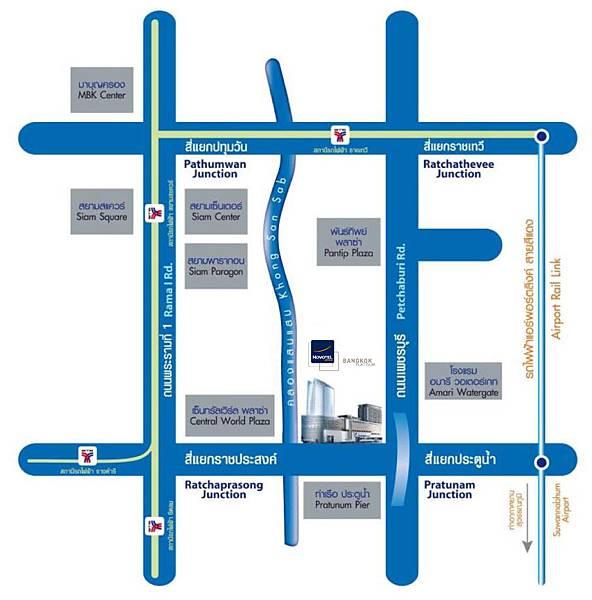 Novotel Bangkok Platinum -MAP