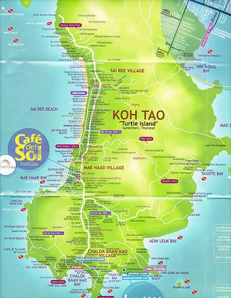 IMGKoh Tao map