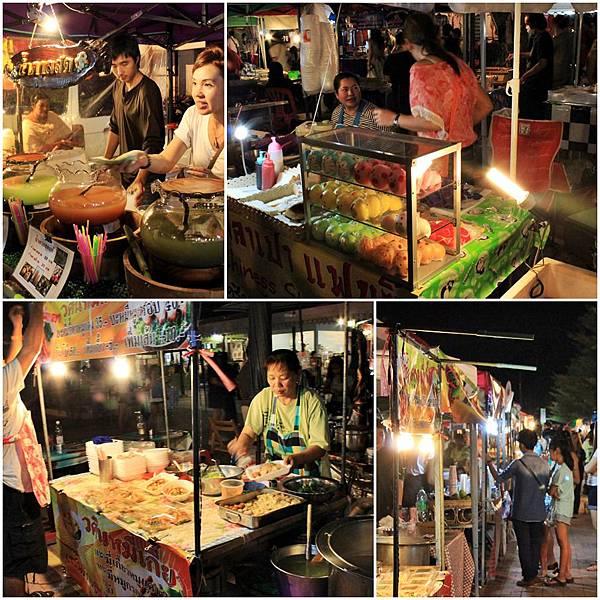 7-1 市集區內的小吃攤——各種小吃都有-價格又便宜!