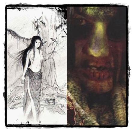 樹女鬼 或 褡倎樹女鬼:Ta-Kiean《นางตะเคียน》