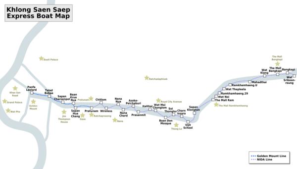 Khlong-Saen-Saep-Map
