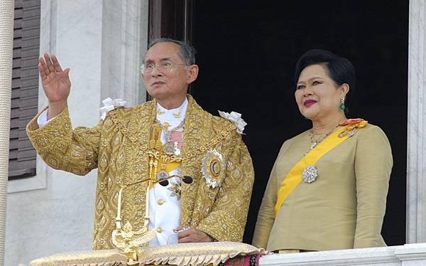 泰國國王和皇后