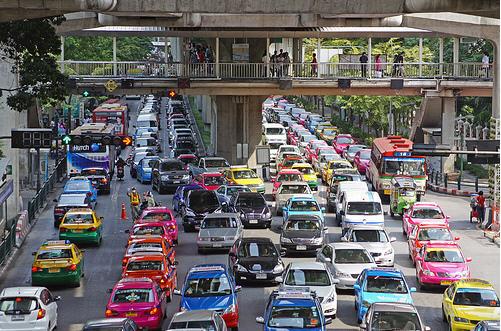 曼谷塞車--1