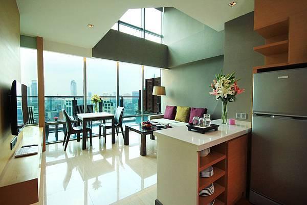 1. Royal Duplex - Pantry area