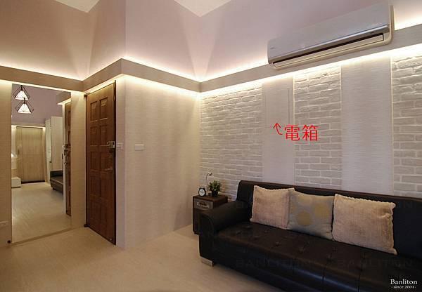 挑高夾層裝潢設計-冷氣管線06
