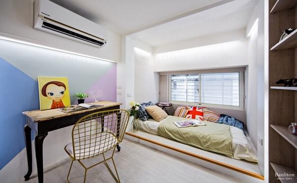 挑高夾層裝潢設計-不說還以為在國外!貓奴的輕法式夾層寵物宅16.jpg