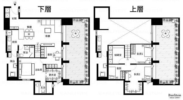 挑高夾層裝潢設計-小尺寸大豪宅01.jpg