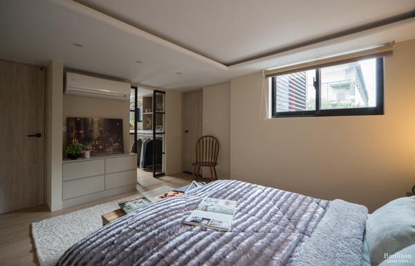 挑高夾層裝潢-弧形天花板設計05.jpg