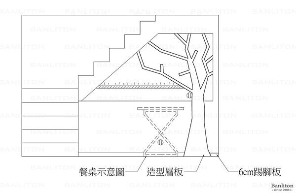 挑高夾層設計-造型展示樹牆01.jpg