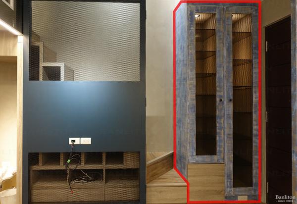挑高夾層設計-展示型收納!夾層屋的多種收納技巧(小型物件篇)04.jpg