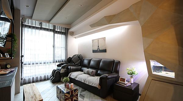 挑高夾層設計-夾層窄宅專用的大斜線設計00.png