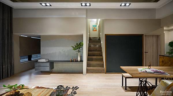 挑高夾層裝潢-5+3房的奇蹟夾層設計00.jpg