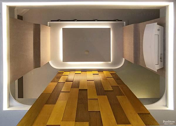 挑高夾層裝潢設計-夾層中心大挑空,生活互動大躍進06.jpg