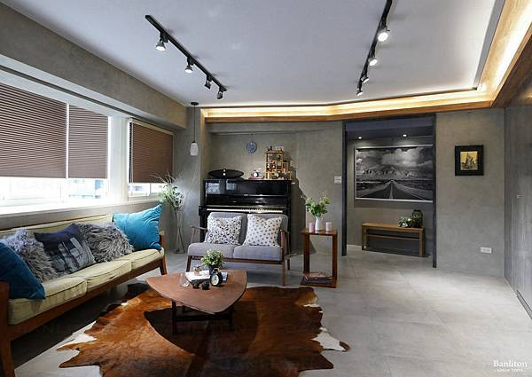小坪數室內裝潢設計-灰斜美!翻轉狹長型老屋的新價值01.JPG