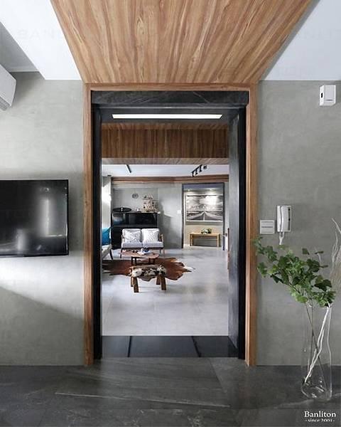 小坪數室內裝潢設計-灰斜美!翻轉狹長型老屋的新價值07.JPG