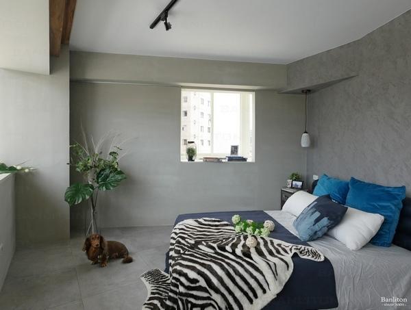小坪數室內裝潢設計-灰斜美!翻轉狹長型老屋的新價值12.JPG
