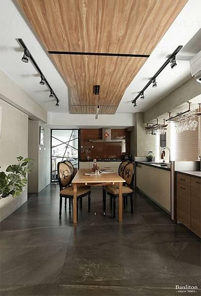 小坪數室內裝潢設計-灰斜美!翻轉狹長型老屋的新價值11.JPG
