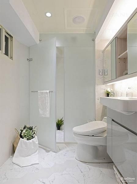 小坪數室內裝潢設計-灰斜美!翻轉狹長型老屋的新價值20.JPG
