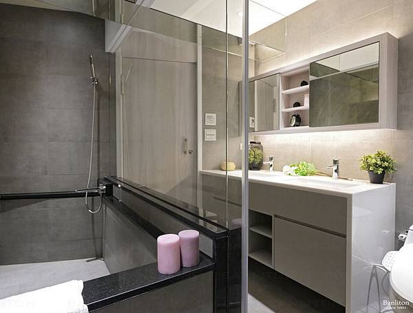 小坪數室內裝潢設計-灰斜美!翻轉狹長型老屋的新價值27.JPG