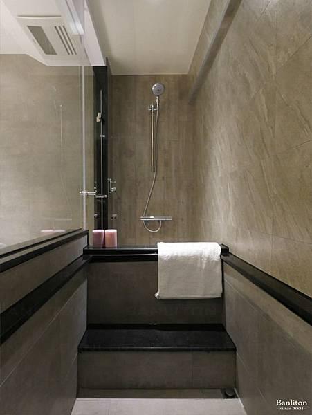 小坪數室內裝潢設計-灰斜美!翻轉狹長型老屋的新價值28.JPG