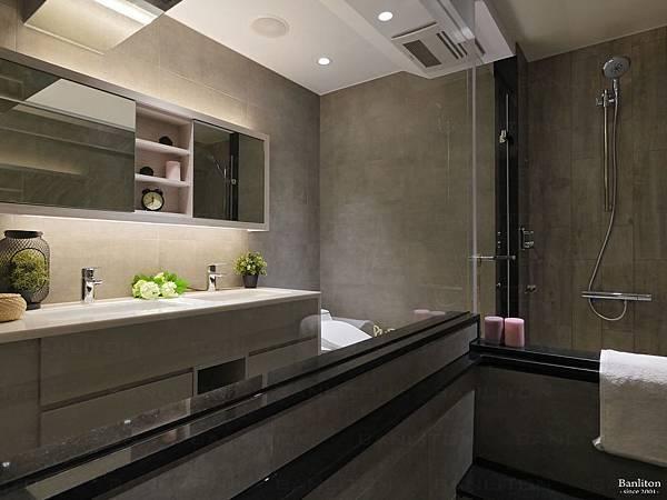 小坪數室內裝潢設計-灰斜美!翻轉狹長型老屋的新價值26.JPG