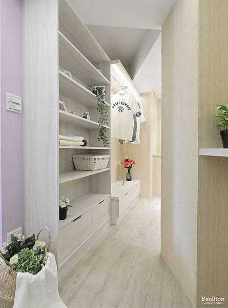 小坪數室內裝潢設計-灰斜美!翻轉狹長型老屋的新價值24.JPG