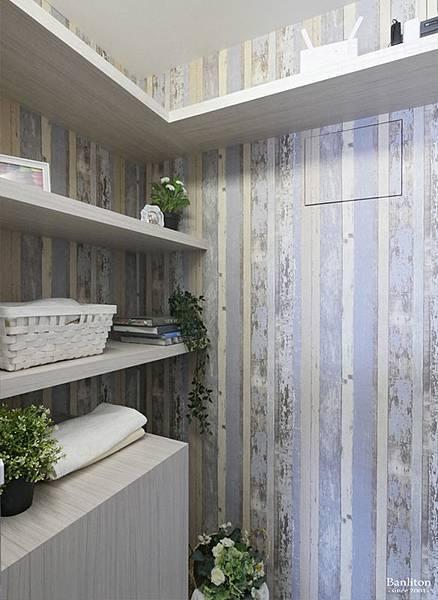 小坪數室內裝潢設計-灰斜美!翻轉狹長型老屋的新價值29.JPG