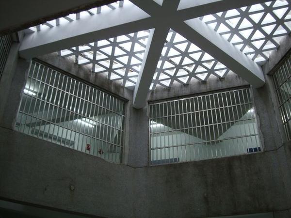 綠島監獄天花板