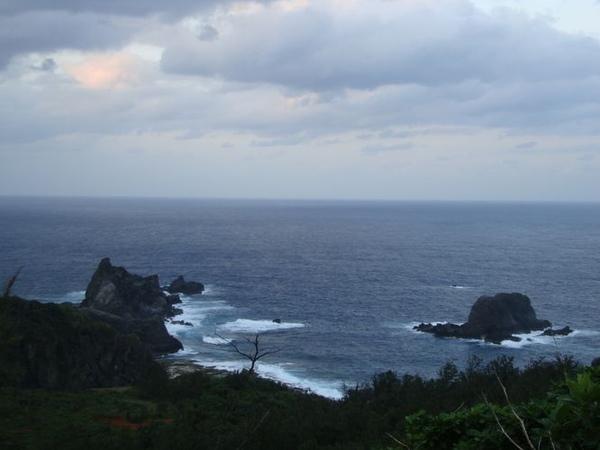 綠島海岸線