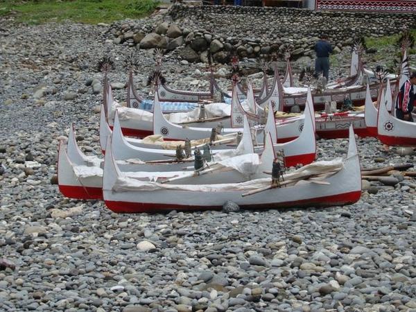 蘭嶼-獨木舟(拼裝船)