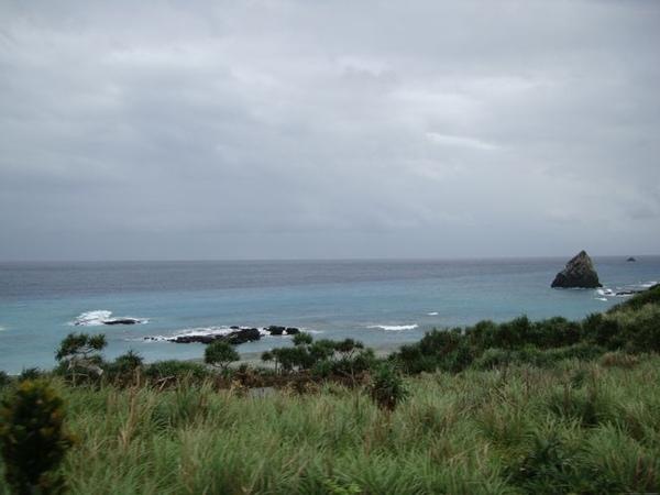 蘭嶼海岸線