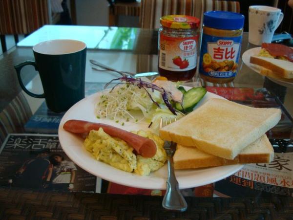 觀月民宿-西式早餐
