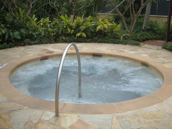 四季酒店-戶外spa池