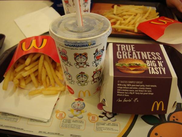 麥當勞-至尊漢堡套餐