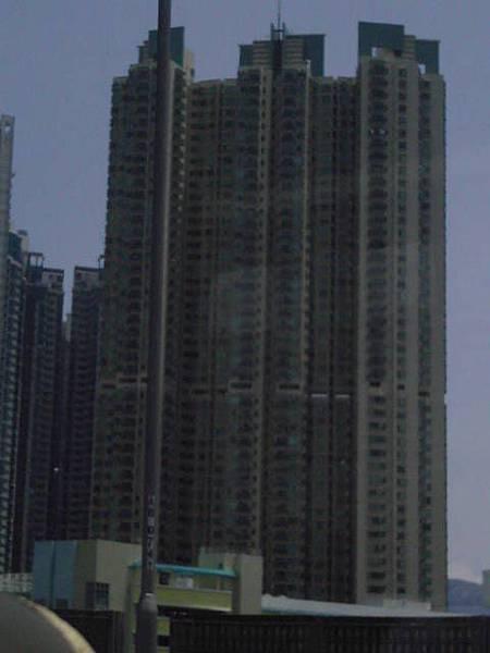 香港的高高樓