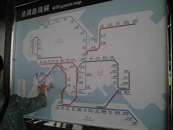 香港地鐵路線圖