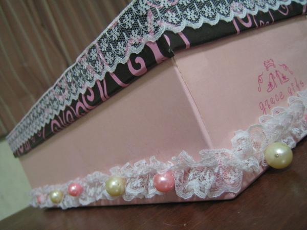 另一個自以為公主風的鞋盒改造